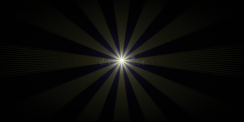 Magic space luminescence vector illustration