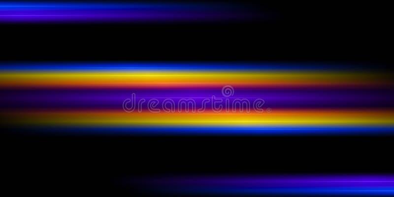 Magic space luminescence royalty free illustration