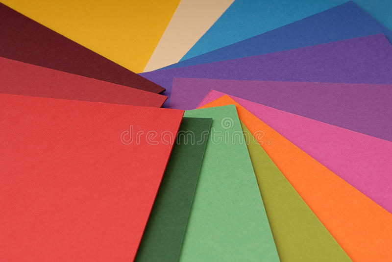 Download Colored paper stock photo. Image of green, decoration - 33955136