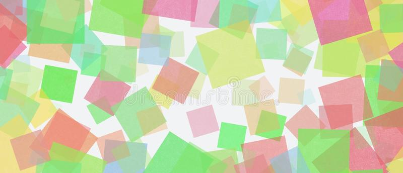 Colored paper notepad pattern on a white background vector illustration