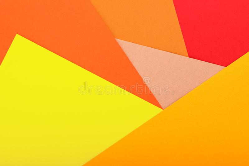 Colored paper texture minimalism background. geometric shapes and lines stock photos