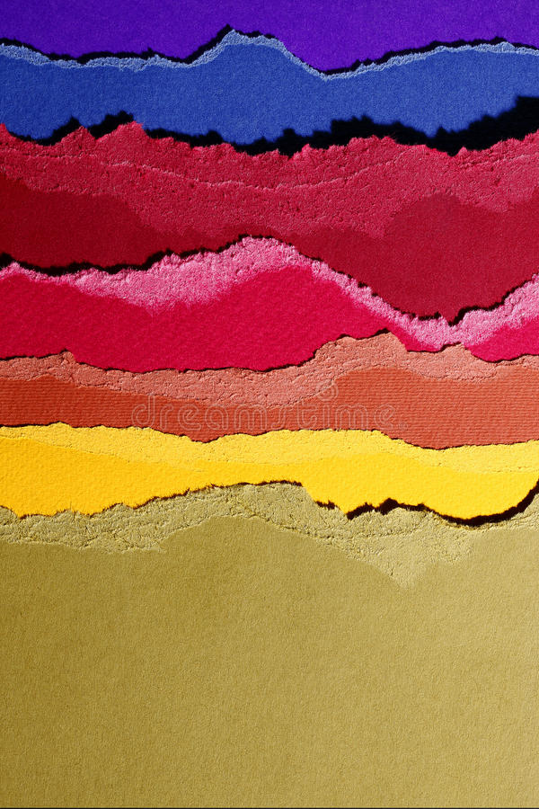Colored pasteboards stock photography