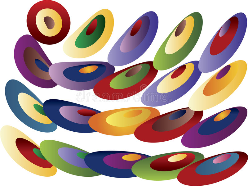 Download Colored Pattern Stock Photo - Image: 3449100