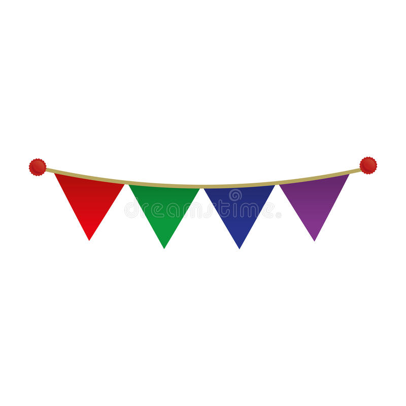Free Colored Penant Decoration Celebration Party Stock Photography - 81949292