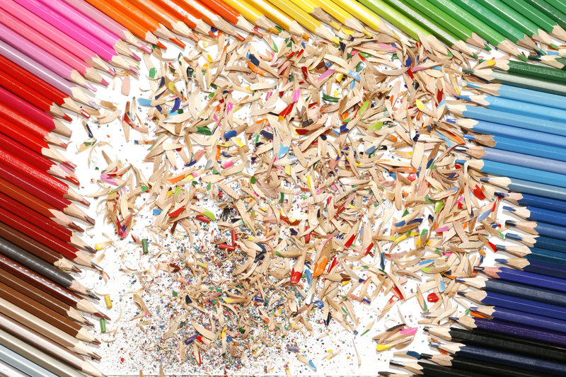 Download Colored pencil stock photo. Image of sharp, utensils, concept - 4714910