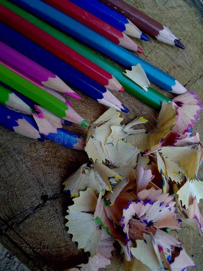 Colored pencil stock photo. Image of pencil, colored ...