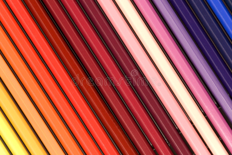 Download Colored pencils stock image. Image of education, colors - 10483045
