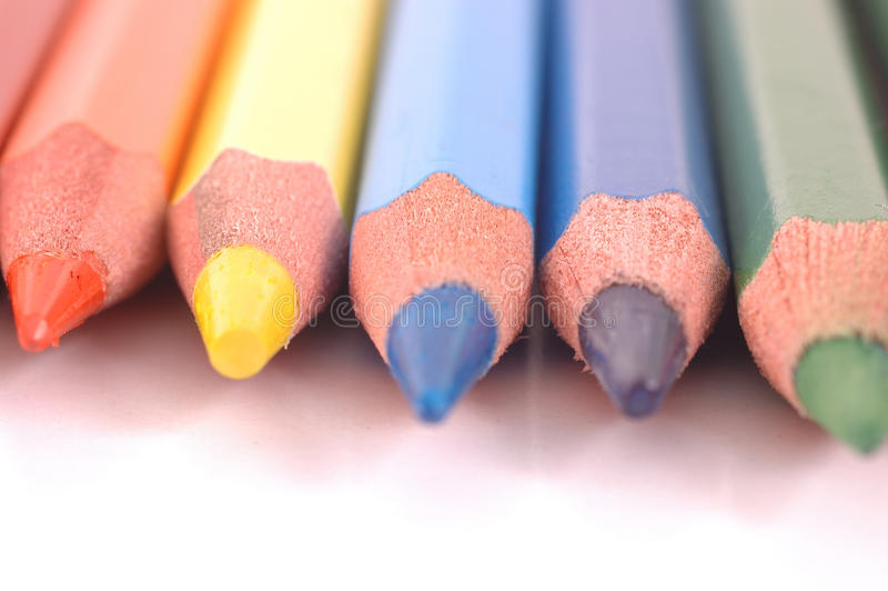 Download Colored Pencils stock image. Image of instrument, crayon - 12121697
