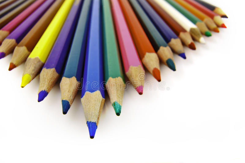 Download Colored pencils stock photo. Image of green, colored - 16742702