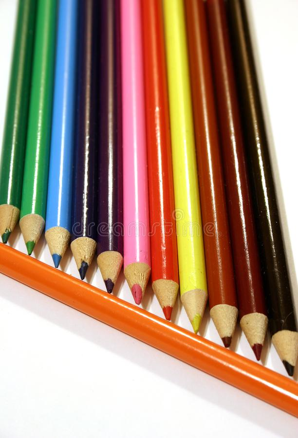 Colored Pencils Free Stock Image