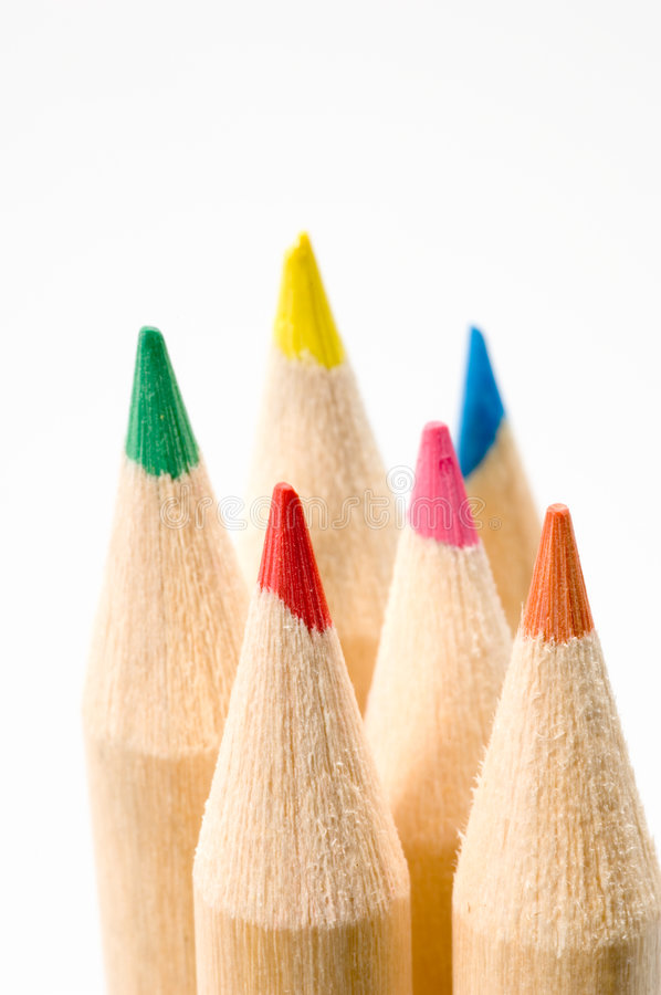 Free Colored Pencils 22 Royalty Free Stock Photos - 1339648