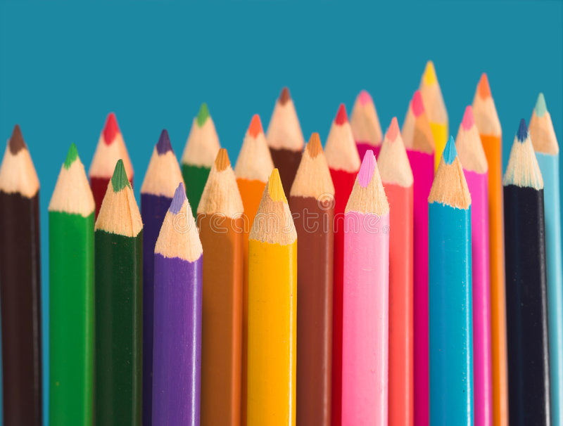 Download Colored pencils stock photo. Image of design, colour, object - 3269562