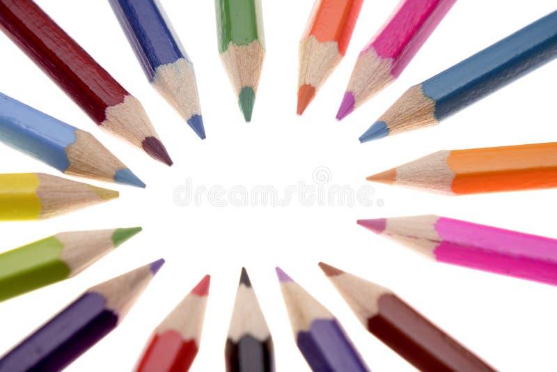 Download Colored pencils stock photo. Image of close, macro, creative - 3309376