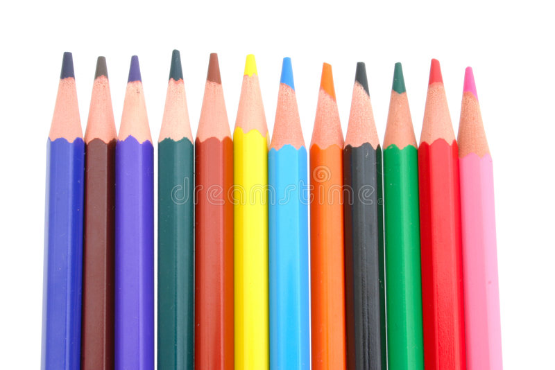 Download Colored Pencils stock photo. Image of colors, colour, artistic - 397838