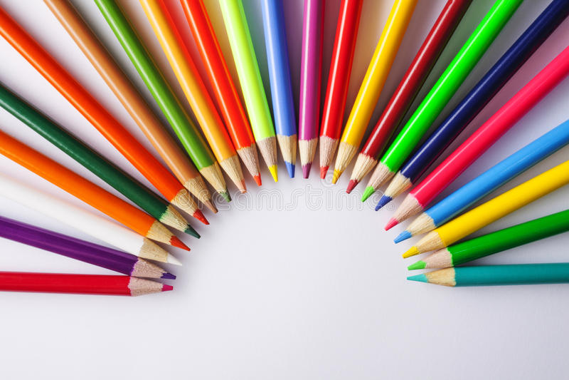 colored pencils στοκ φωτογραφίες με δικαίωμα ελεύθερης χρήσης