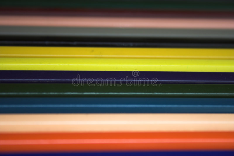 Download Colored pencils - ART stock photo. Image of artistic, array - 854874