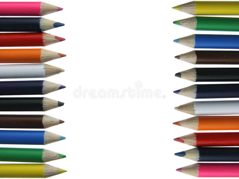 Download Colored Pencils - Crayons - Chalks Stock Photos - Image: 8105383
