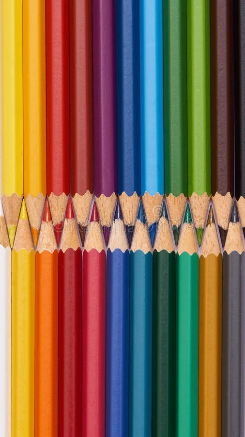 Free Colored Pencils - Mobile Wallpaper Stock Image - 103957021