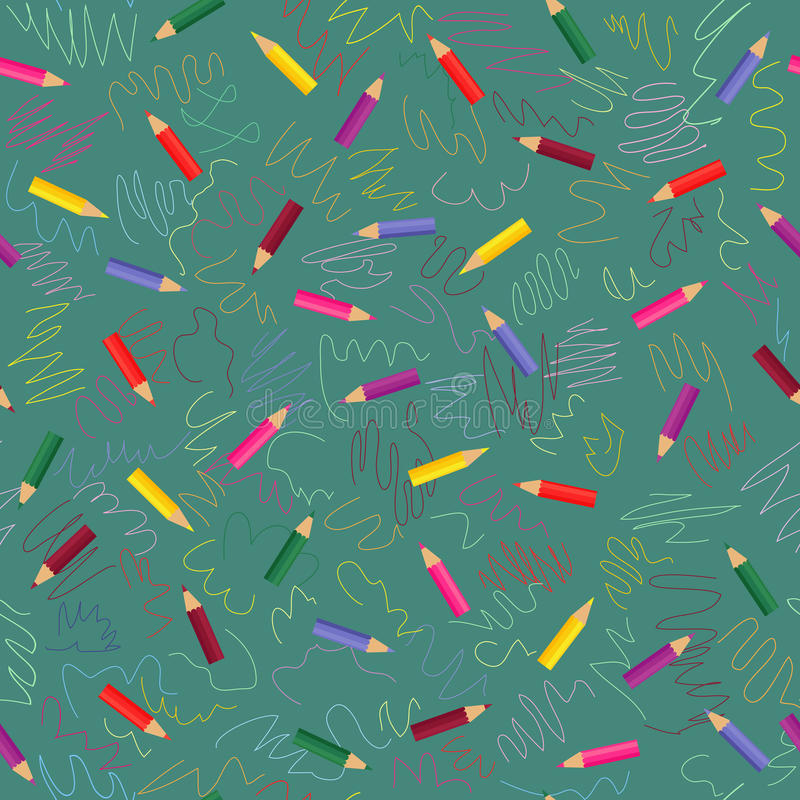 Download Colored Pencils Pattern Royalty Free Stock Photo - Image: 24542275