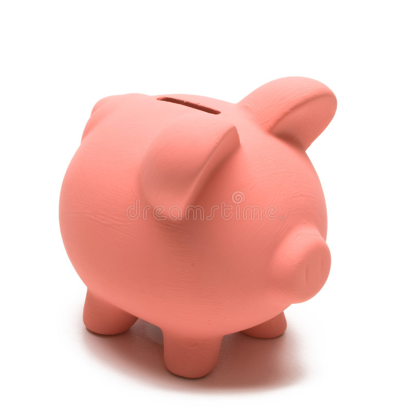 Free Colored Piggy Bank Stock Image - 7547091