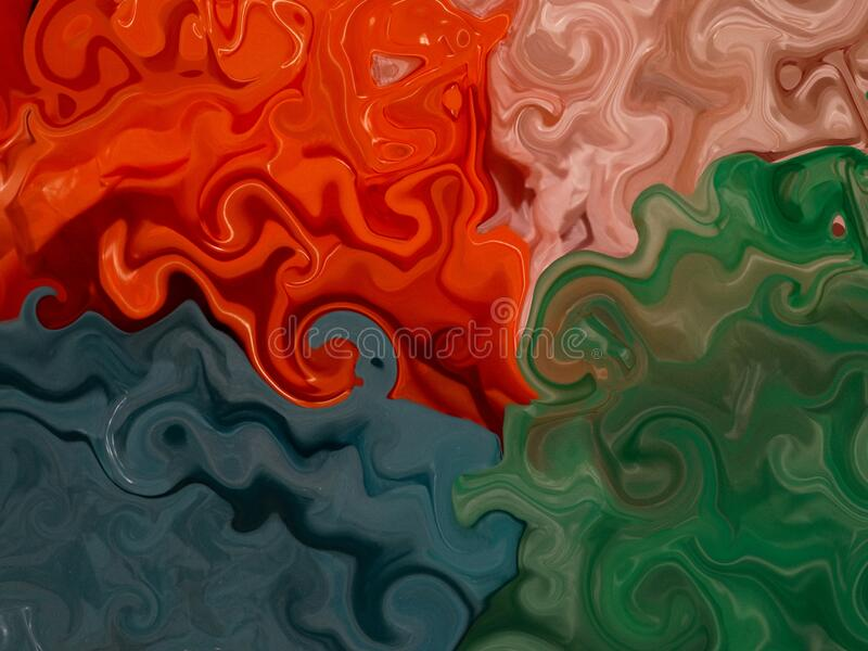 Colored Plastic Bags Abstract Art Background royalty free illustration