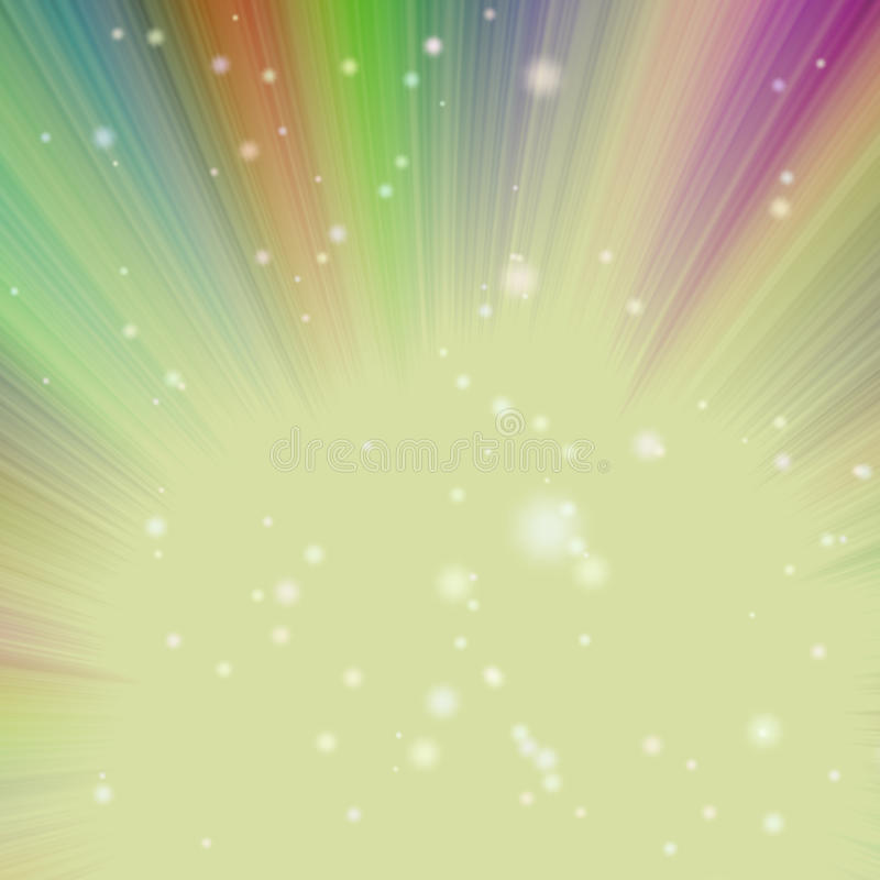 Colored Rays - abstract background. Abstract composition - colored beams - abstract background vector illustration