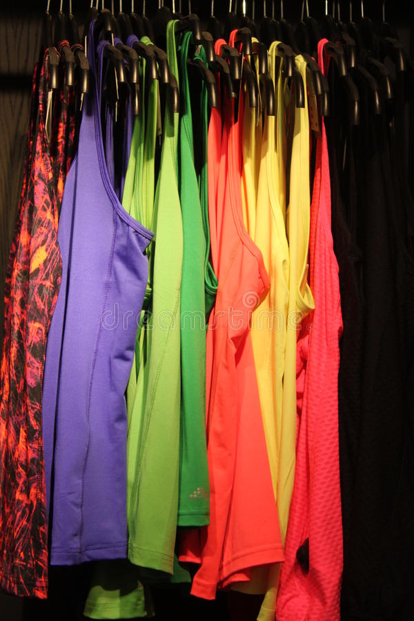 Download Colored undershirts women stock photo. Image of fashion - 29070460