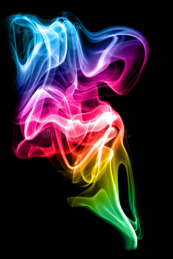 Free Colored Smoke Stock Images - 13232144