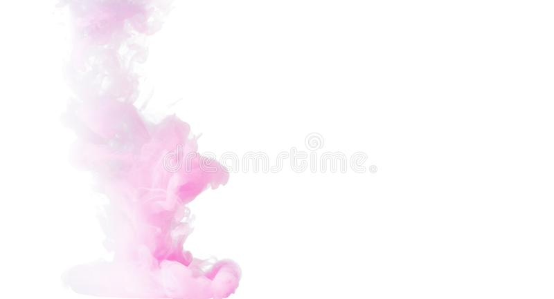 Colored smoke concept stock images