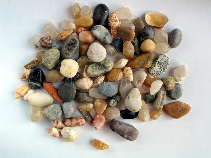 Colored stones background royalty free stock image