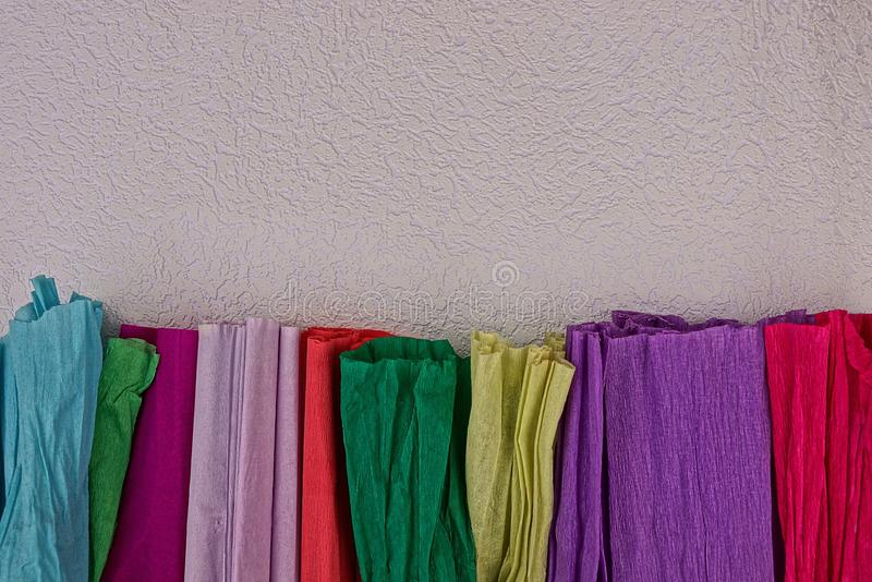 Colored texture of multi-colored paper royalty free stock images
