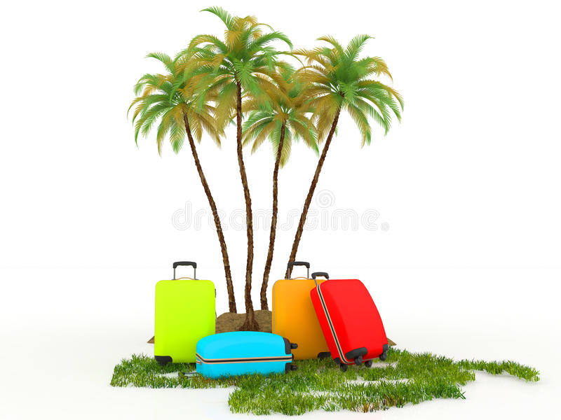 Download Colored travel concept stock illustration. Image of travel - 25481361