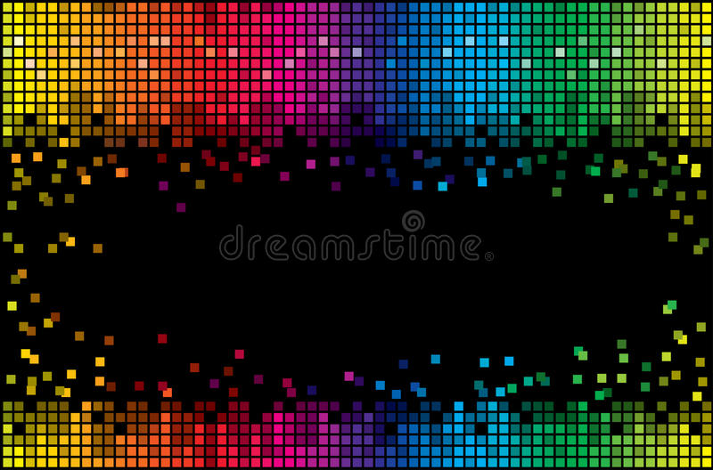 Colored vector background royalty free illustration