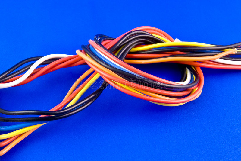 Download Colored Wires Royalty Free Stock Photos - Image: 3130518