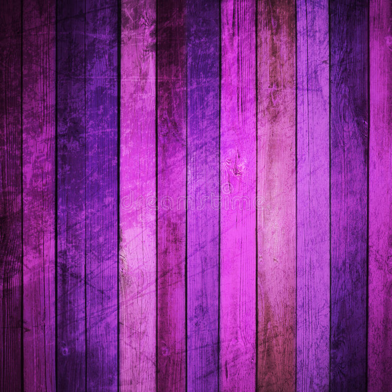 Colored wooden background stock illustration