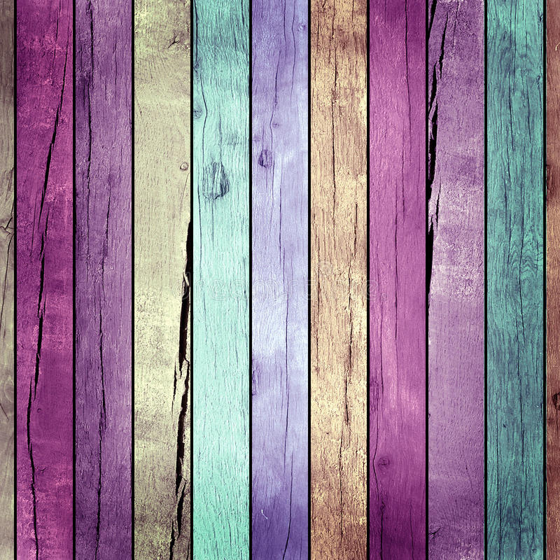Colored wooden texture. Raster artwork stock illustration