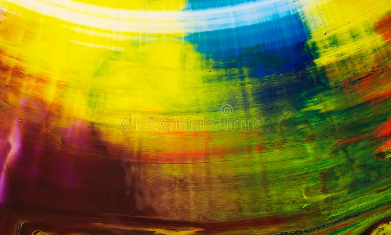 Coloree color abstracto de las tintas de fondo diverso fotografía de archivo libre de regalías