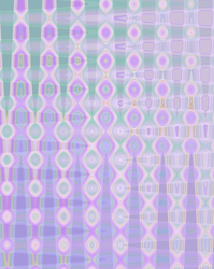 coloree el fondo abstracto del modelo de mosaico, fondo geométrico abstracto colorido del modelo de los cuadrados de rejillas ilustración del vector