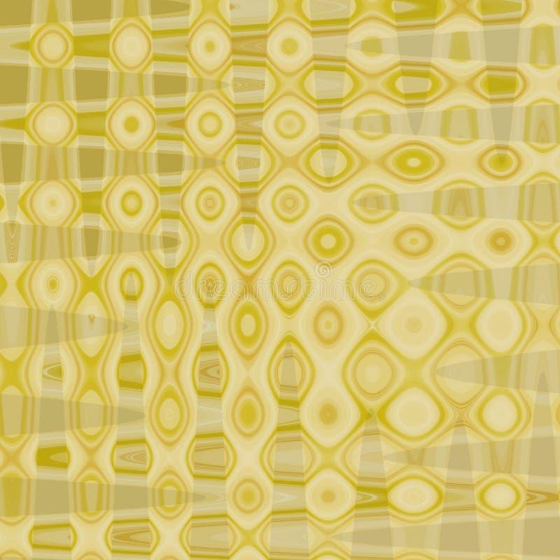 coloree el fondo abstracto del modelo de mosaico, fondo geométrico abstracto colorido del modelo de los cuadrados de rejillas libre illustration