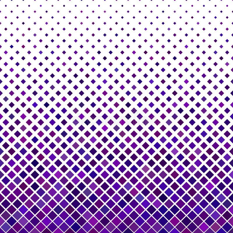 Coloree el fondo cuadrado diagonal abstracto del modelo libre illustration