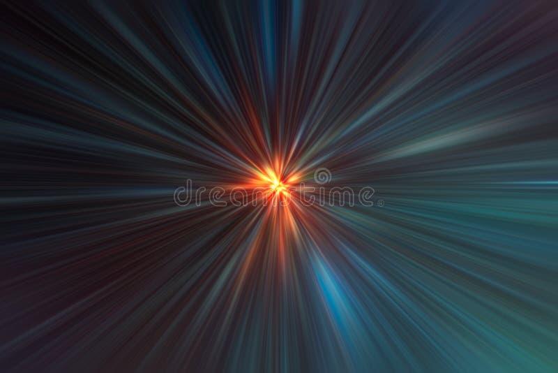 Coloree el fondo estupendo del movimiento de la velocidad rápida de la aceleración libre illustration
