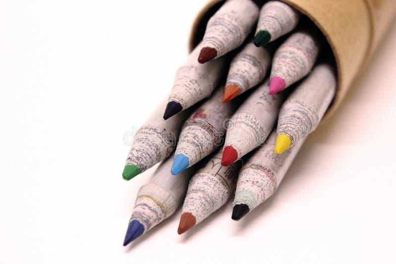 Coloree el lápiz fotos de archivo libres de regalías