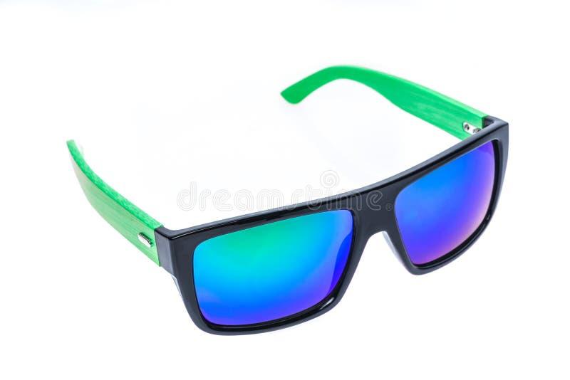 Coloree las gafas de sol de los niños, las sombras del sol o las gafas aisladas encendido fotografía de archivo libre de regalías
