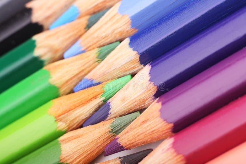 Coloree los lápices foto de archivo libre de regalías