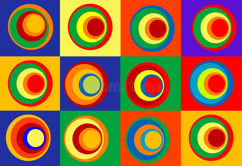 Colores ilustración del vector