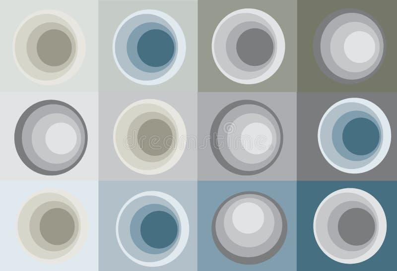 Colores stock de ilustración