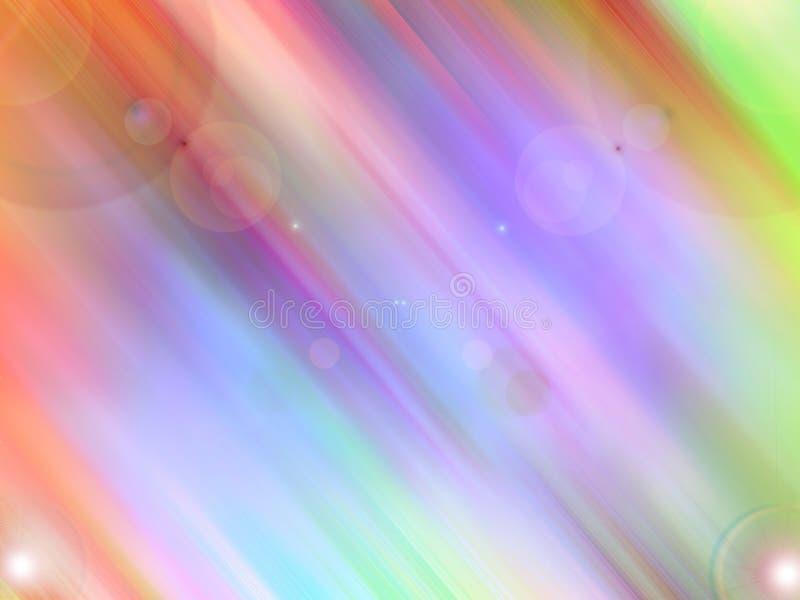 Colores celestes stock de ilustración