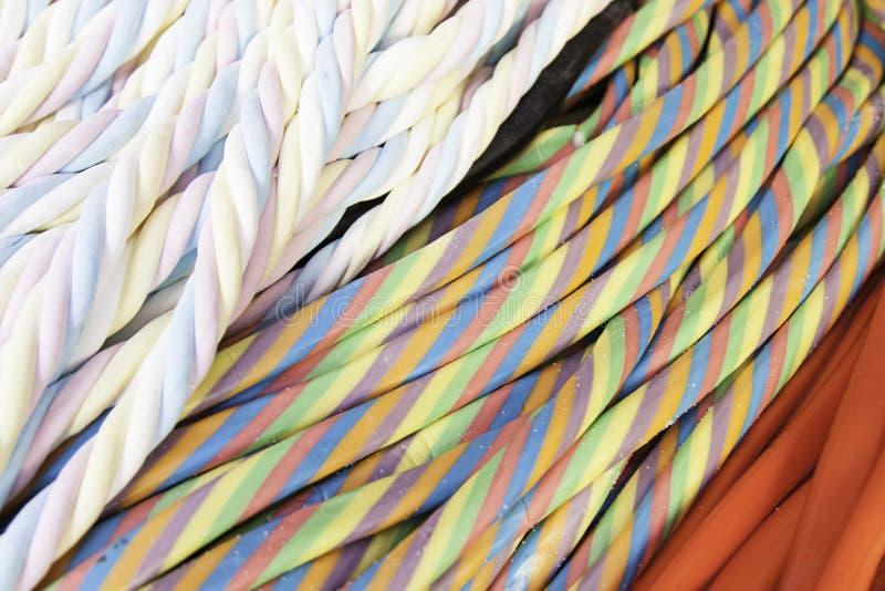 Colores condimentados regaliz fotografía de archivo