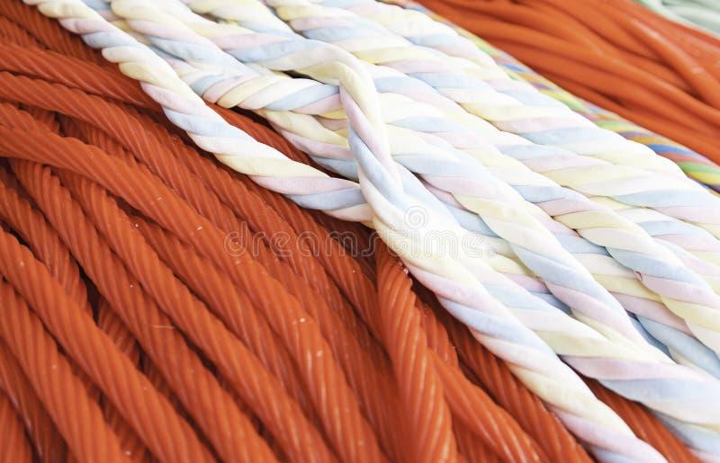 Colores condimentados regaliz foto de archivo