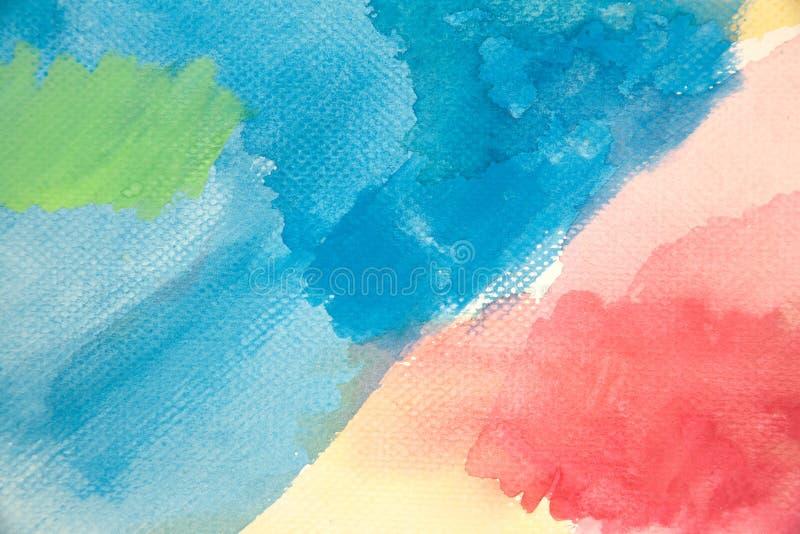 Colores de agua foto de archivo libre de regalías